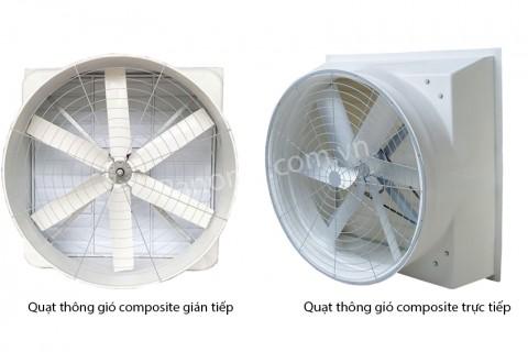 Top 2 loại quạt thông gió công nghiệp Composite tốt nhất hiện nay