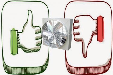 Những ưu điểm, nhược điểm quan trọng của quạt thông gió công nghiệp Composite