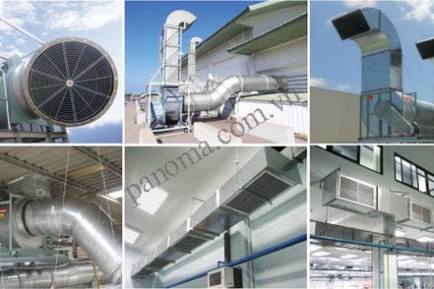 Các giải pháp thông gió cho nhà xưởng?
