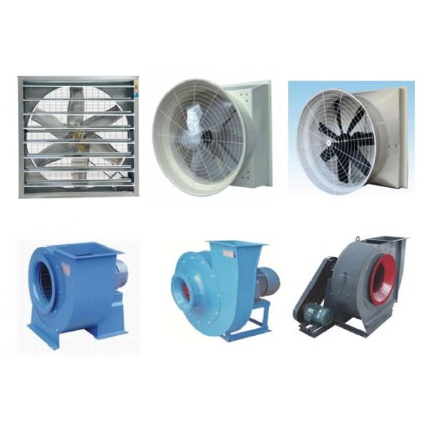 Phân biệt quạt hút và quạt thông gió trong công nghiệp