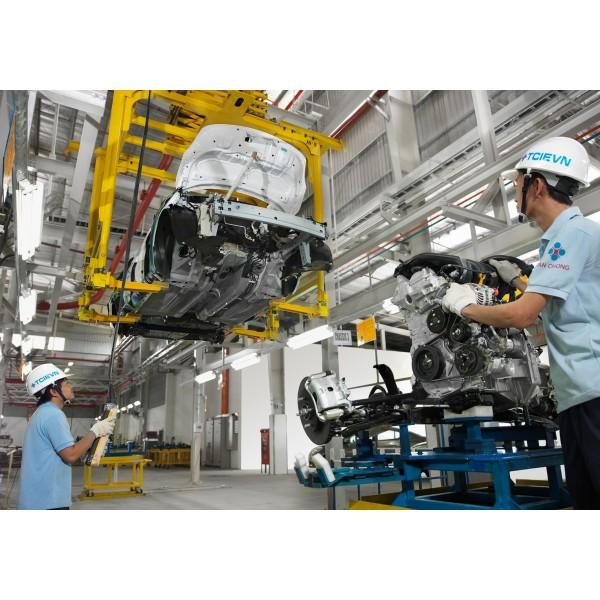 Hệ thống làm mát xưởng cơ khí