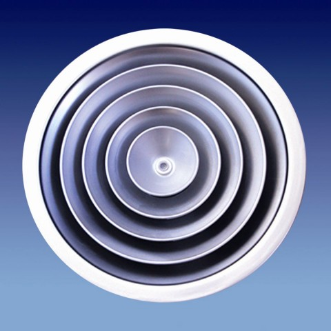 Cửa gió khuyếch tán - cửa hình tròn