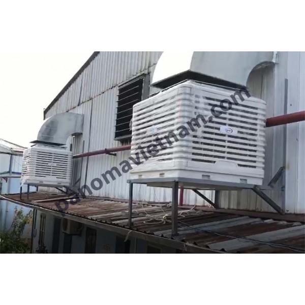 Hệ thống Thông gió, Làm mát Nhà máy Công ty Cổ phần Đức Hiếu