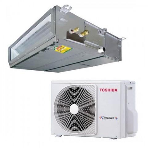 Dàn lạnh âm trần nối ống gió áp cao Toshiba