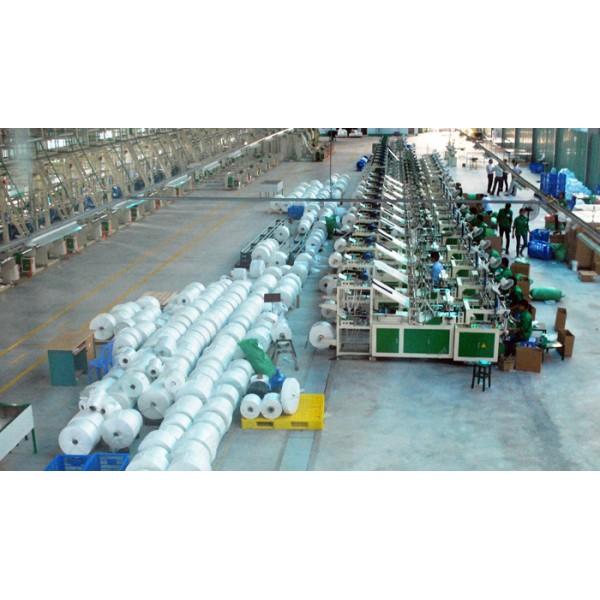 Giải pháp làm mát nhà xưởng sản xuất bao bì, nhựa